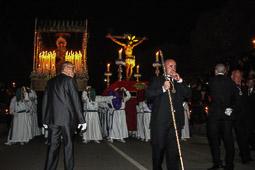 Processó de Silenci del Sant Crist de Sant Vicenç dels Horts, 2015