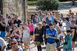Festa Catalana al Castell de Montjuïc
