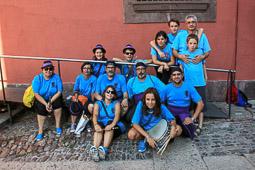Festa Major de la Seu d'Urgell 2015: trobada gegantera