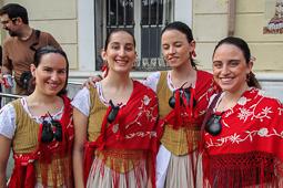 Tobada de Collers del Ball de Gitanes a Mollet del Vallès