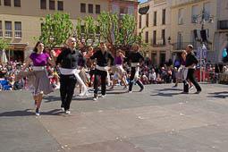 Trobada de Colles del Ball de Gitanes a Mollet del Vallès