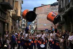 Festa Major de La Seu d'Urgell 2014: cercavila de gegants