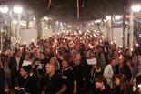 Diada Nacional 2015: Marxa de Torxes a Olot
