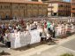 Manifestació dels treballadors de Simon a Olot