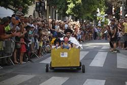 Baixada d'andrònimes de la Festa Major de Terrassa 2016