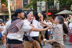 Ball de Serrallonga per la Festa Major de Terrassa 2016