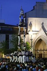 Diada castellera de Sant Jordi a Terrassa