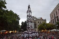 Castells de Vigília de la Festa Major de Terrassa 2016