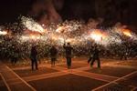 Correfoc de la Colla Jove Diables de Sant Llorenç de Terrassa 2015
