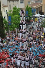 Diada castellera de Festa Major