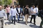 Municipals 2015: Oriol Junqueras visita la Fira Modernista de Terrassa