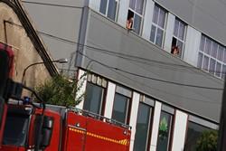 Falsa alarma d'incendi a Terrassa