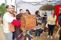 Mercat d'artesania i oficis per la Fira Modernista de Terrassa