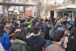 Manifestació d'Estudiants a Terrassa