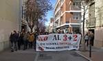 Manifestació estudiants de Terrassa contra reforma 3+2