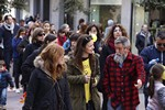 Manifestació de la Comunitat Educativa de Terrassa