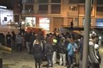 Manifestació d'alumnes de l'Escola Municipal d'Art