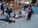 Protesta de pares i alumnes contra la reforma de la llei educativa