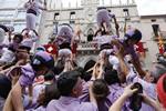 Mirada de Cristóbal Castro a la Diada Castellera Festa Major de Terrassa 2014