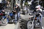 Trobada de Harleys Davidson a Terrassa