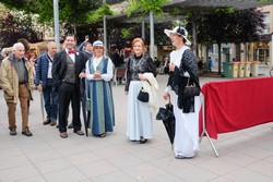 Mostra de comerç a la plaça del Progrés de Terrassa