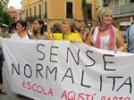 Protesta contra les retallades en ensenyament