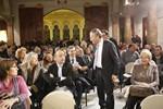 Presentació de Carles Rossinyol, alcaldable de CiU a Sabadell