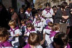 Rua de Carnestoltes escola Tecnos de Terrassa