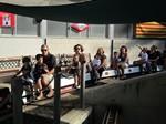 Trenet de Vallparadís del Club Ferroviari a la Festa Major de Terrassa 2014