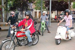 Trobada Motos Clàssiques per la Festa Major de Terrassa 2016