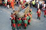 La Baixada del Drac a la Festa Major de Terrassa 2013