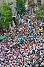 Diada Castellera de Festa Major Terrassa 2014