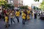 Protesta a Terrassa contra les retallades en educació