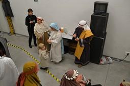 Els Pastorets del Social, vistos des de dins <p>Maria i Josep, al descans.</p>
