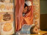 El patge reial recull cartes a Sant Bartomeu