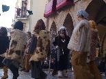 Danses i gegants a la Fira de l'Aixada