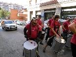 Arrossada a la Plaça Catalunya