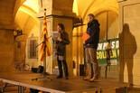 Concentració contra la reforma educativa de Wert a Manresa