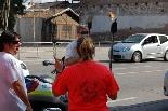 Pas de la Flama del Canigó per Manresa, 2011