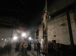 La Fura dels Baus interpreta «Manes» a l'Anònima de Manresa