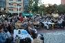 Inauguració irònica del Parc Vila Closes