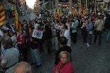 Manifestació en defensa de la sanitat pública
