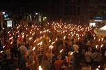 Marxa de Torxes per la Independència 2015