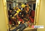 Simulacre d'accident ferroviari