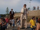 Trobada de Gegants del Bages - Berguedà al Pont de Vilomara