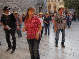 Trobada de balladors de country a Moià 2011