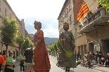 Trobada gegantera a Castellbell i el Vilar