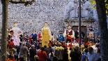 Trobada gegantera a Moià