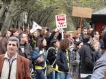 Manifestació Vaga General 14N de CCOO-UGT