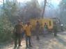 Desplegament per l'incendi de Santpedor - Callús 2009